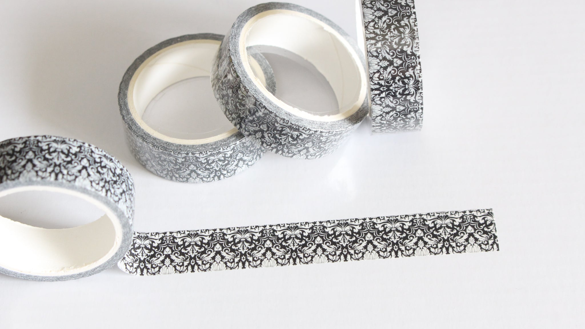 Ornamental Black Washi Tape