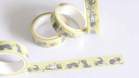 Kawaii Cats Washi Tape