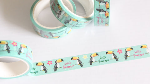 Toucan Washi Tape
