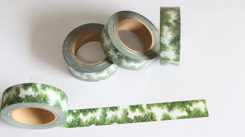 Christmas Greenery Washi Tape
