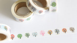 Seasonal Trees Washi Tape