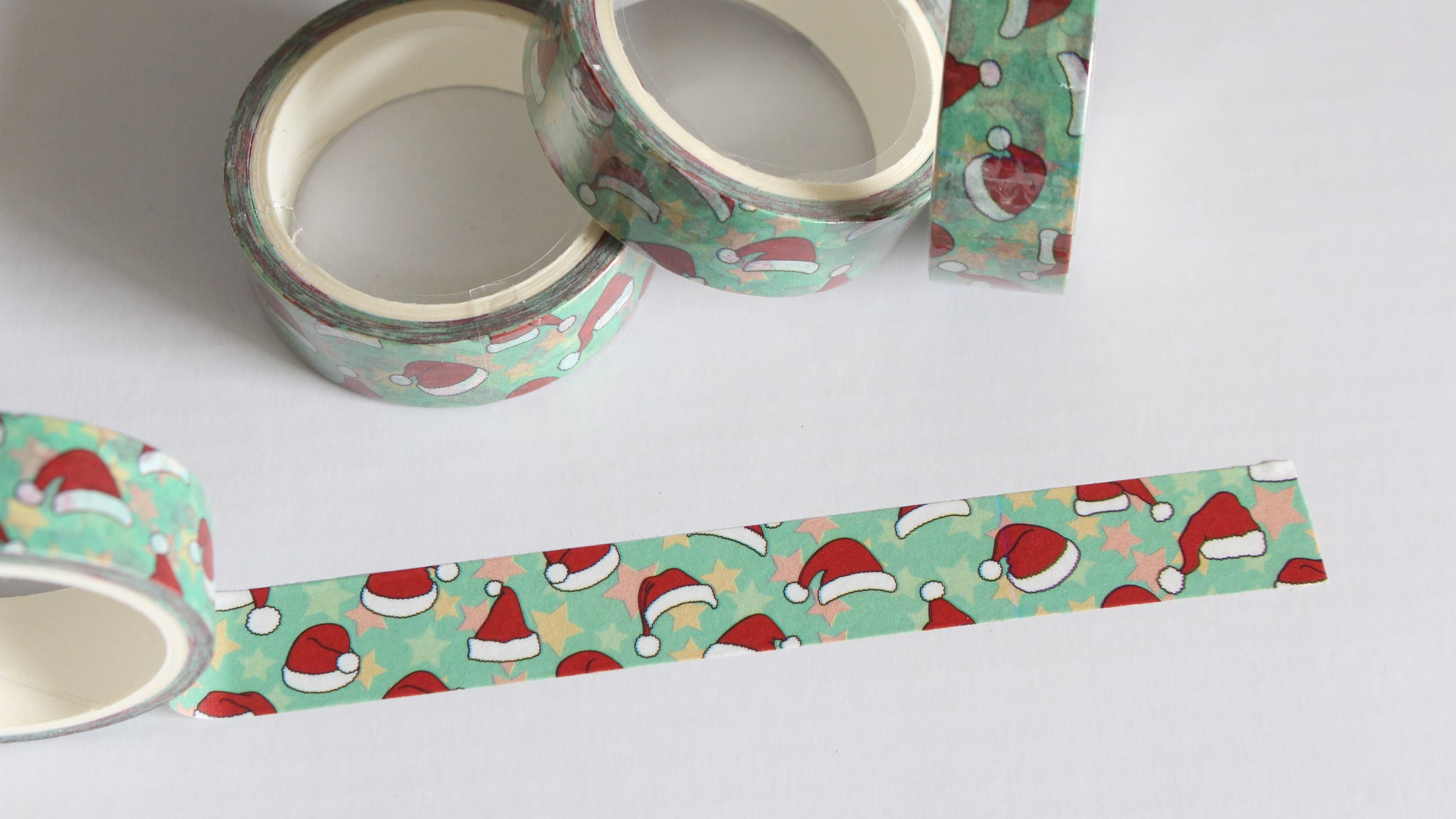 Santa Hats Washi Tape