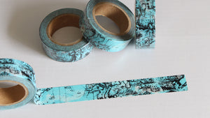 Vintage Map Washi Tape