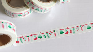 Christmas Bunting Washi Tape