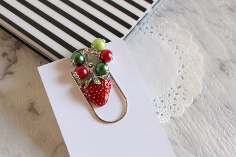 Strawberry Dangle Clips