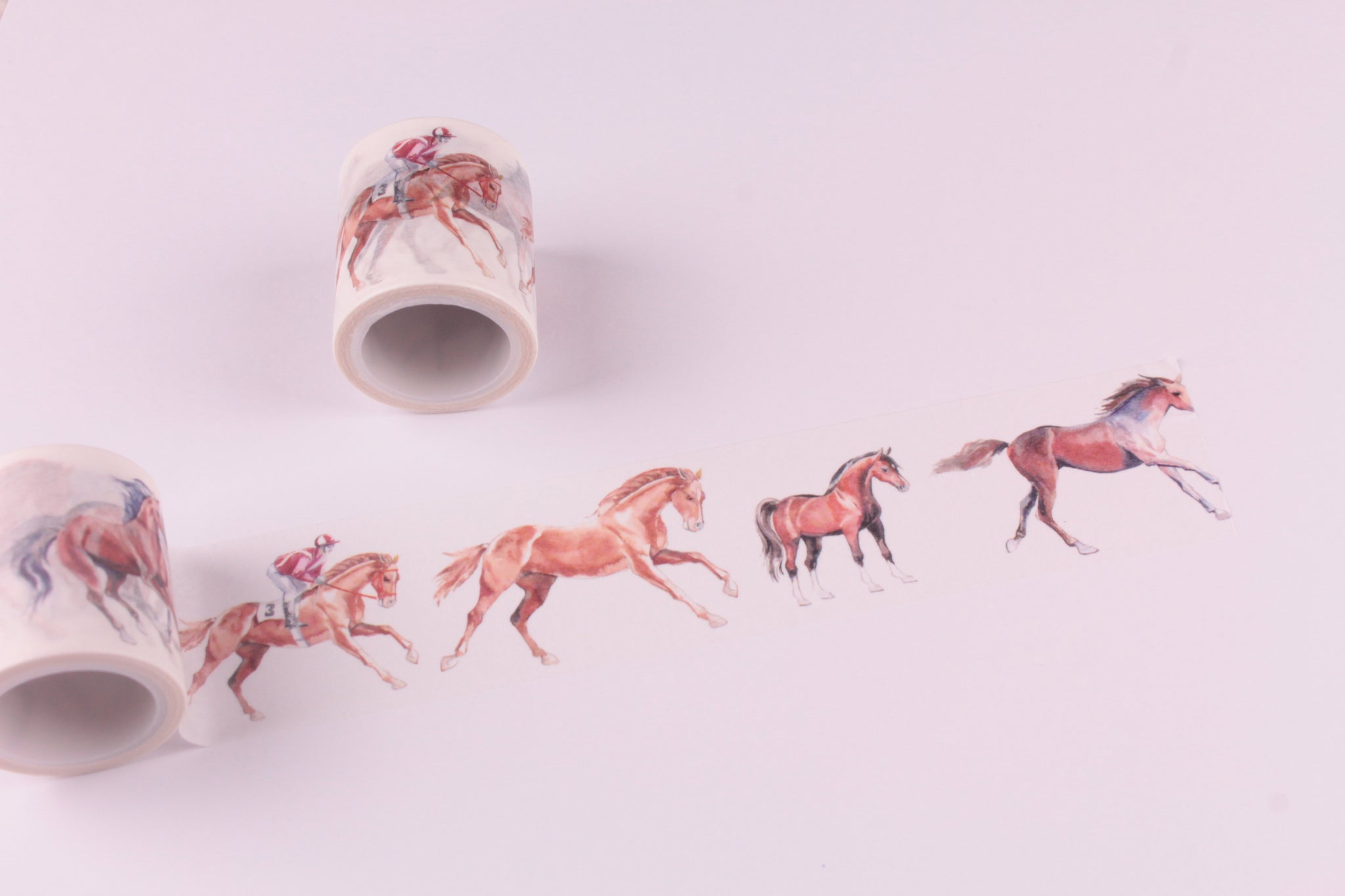 Horses Washi Tape - Wide Washi - 40mm