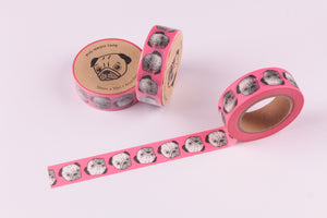 Pugs Washi Tape - Smarty Pants Paper Co.