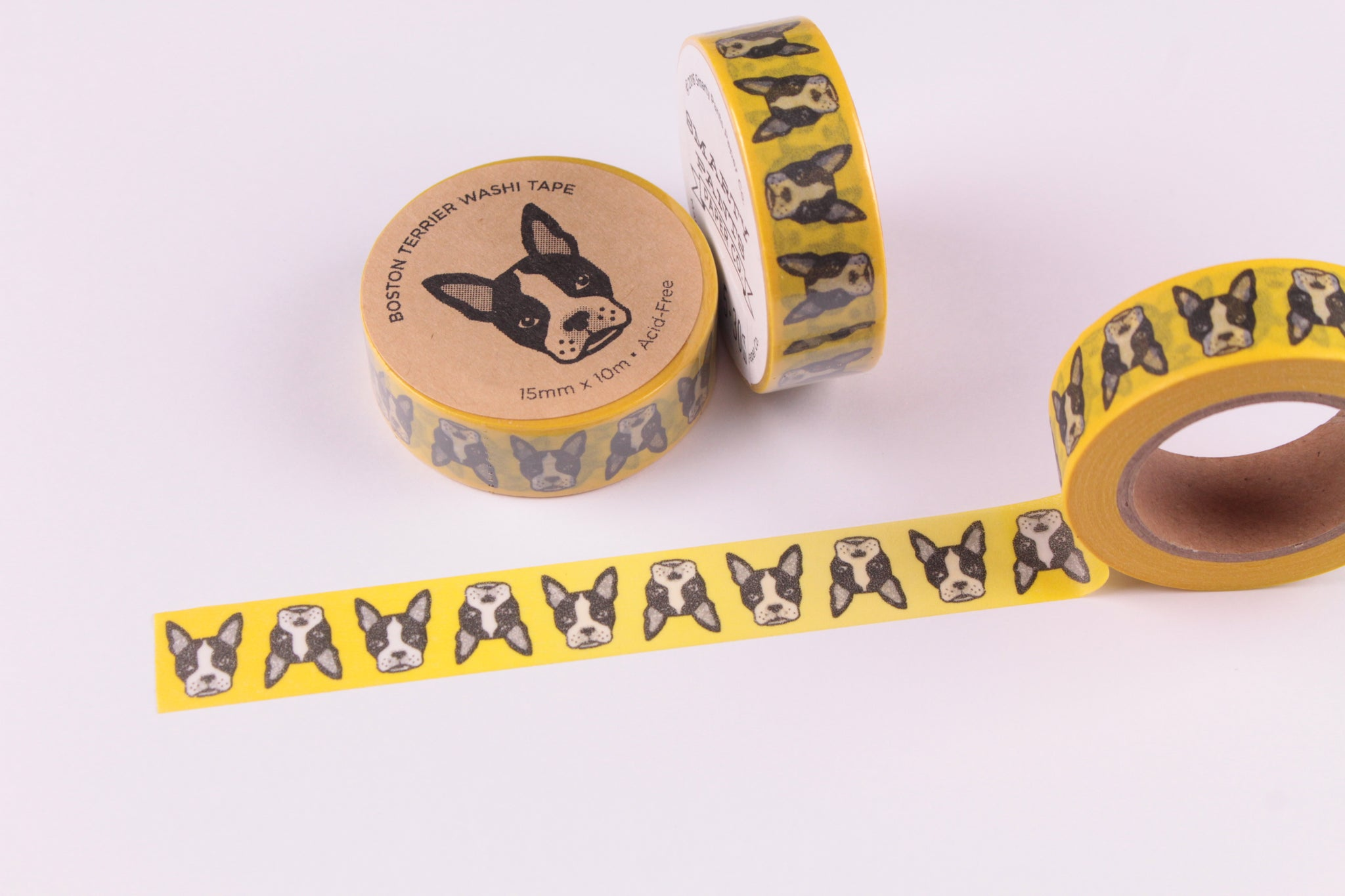 Boston Terrier Washi Tape - Smarty Pants Paper Co.