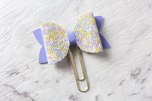 Spring Pastel Bow Clip