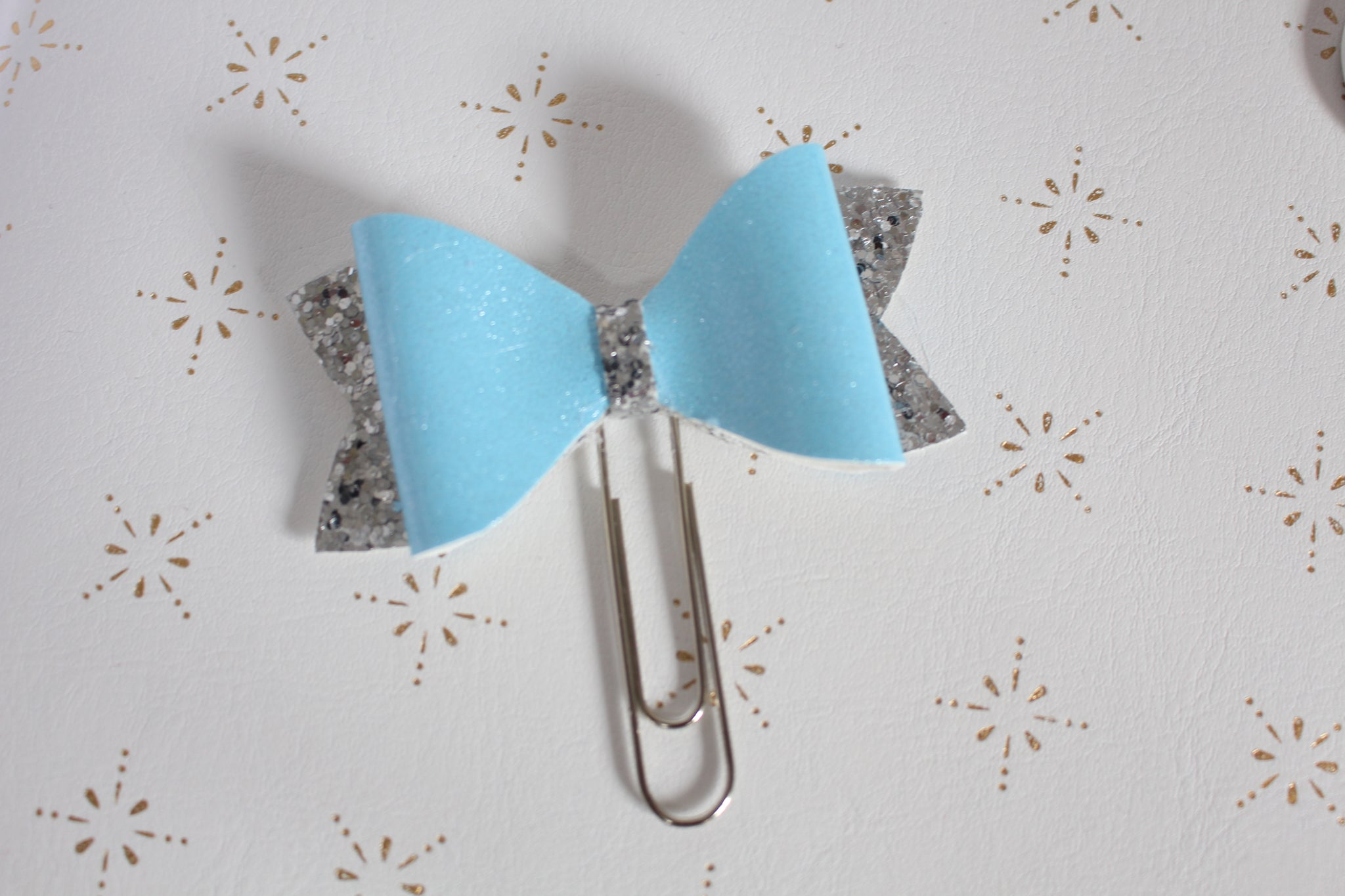 Ice Queen Planner Bow Clip