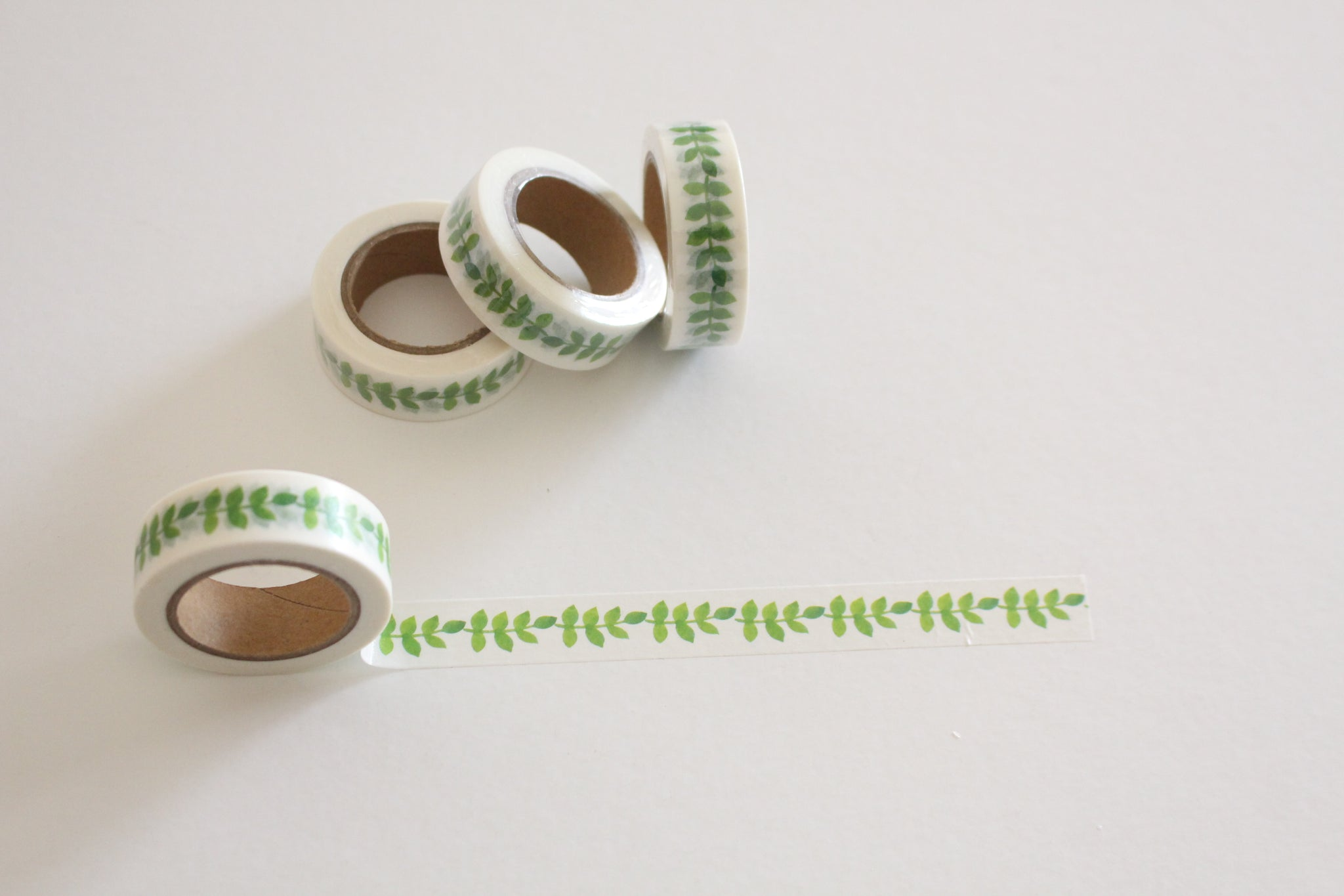 Leafy vines washi tape