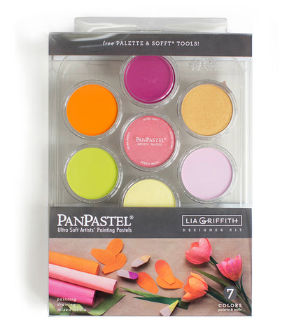 PanPastel - Lia Griffith Designer Kit - 7 Colours