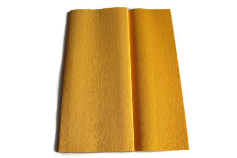 Gloria Doublette Crepe paper / Double sided crepe paper - Light Yellow & Yellow