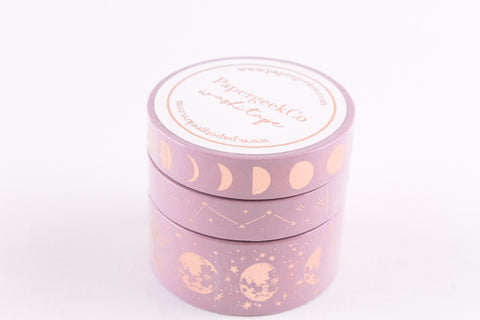 Lunar Magic Washi Tape - Velvet Rose