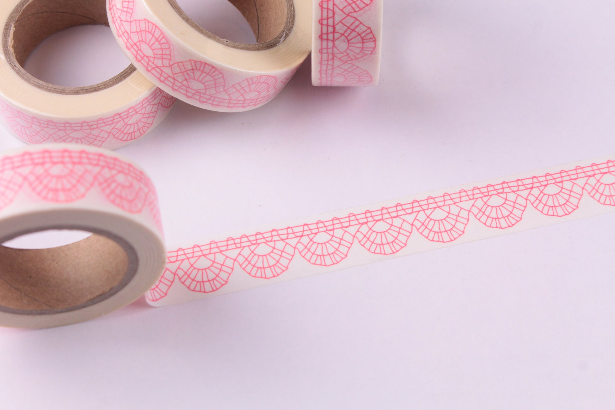 Pink Scallops Washi tape