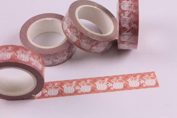Pumpkin Vines Washi Tape