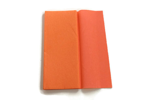 Gloria Doublette Crepe paper / Double sided crepe paper - Salmon & Light Rose