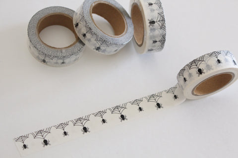 Spider and web washi tape