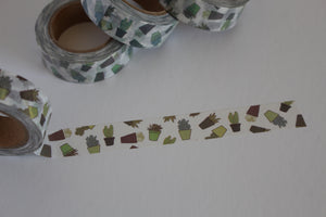 Succulents Washi