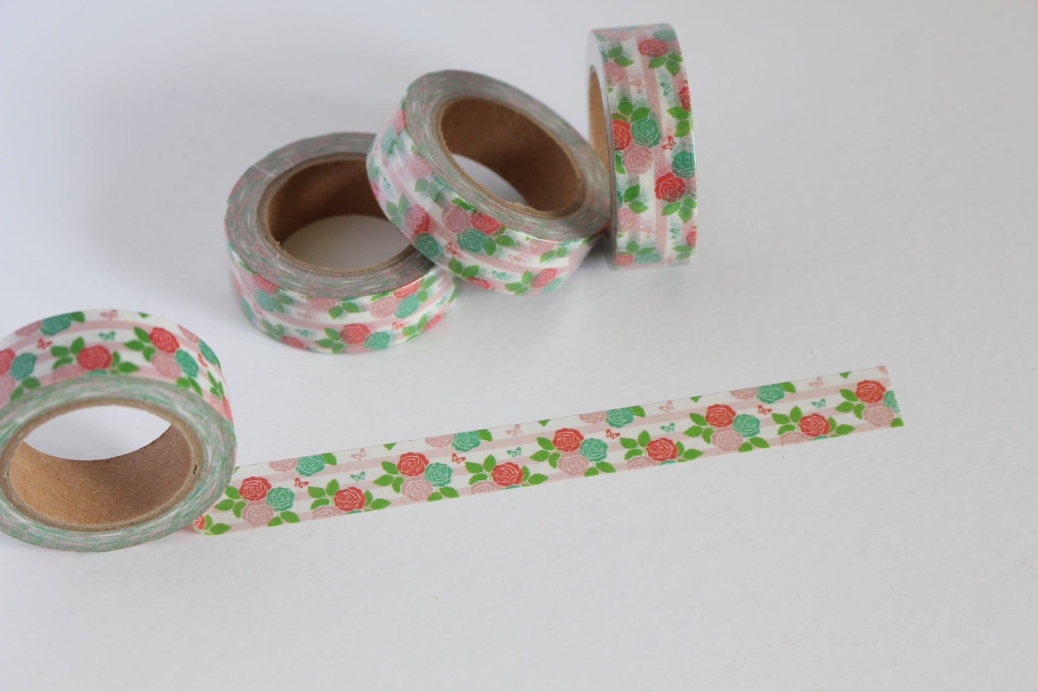 Summery Floral Washi Tape