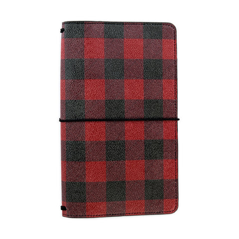 Echo Park Paper Co ? Travelers Notebook Buffalo Plaid