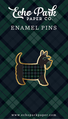 Echo Park Paper Co - Scottie Dog Enamel Pin