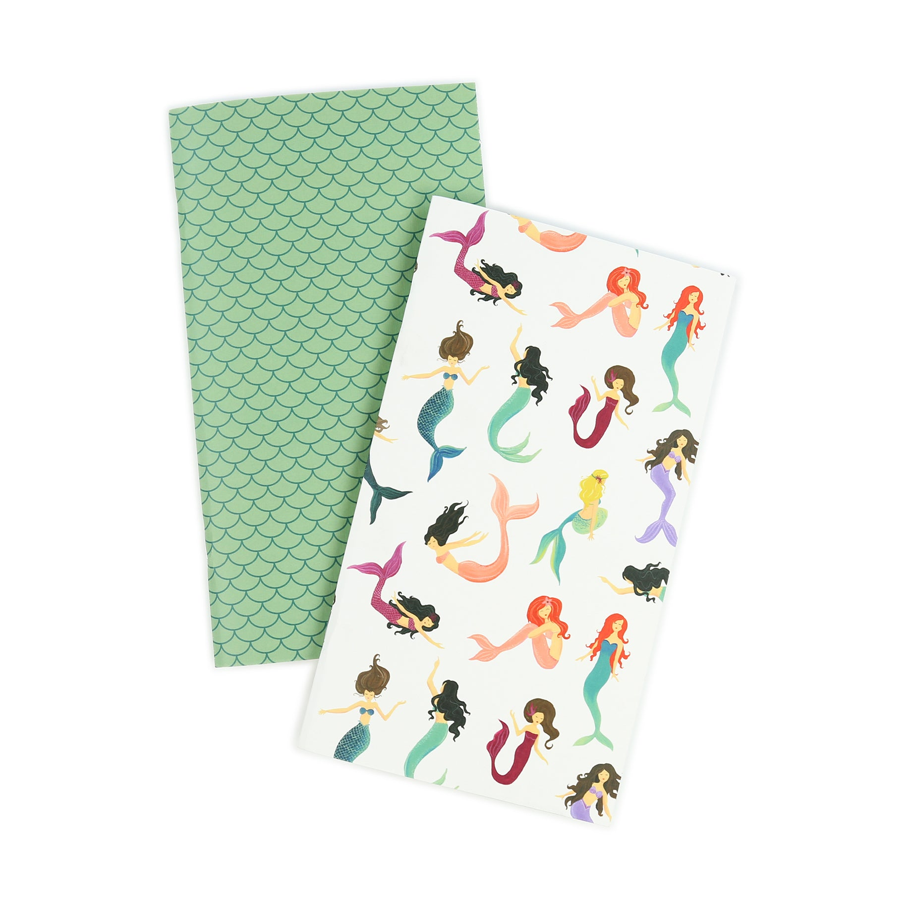 Echo Park Paper Co - Mermaid Travelers Notebook Insert Daily Calendar