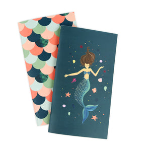 Echo Park Paper Co - Mermaid Travelers Notebook Insert Weekly Calendar
