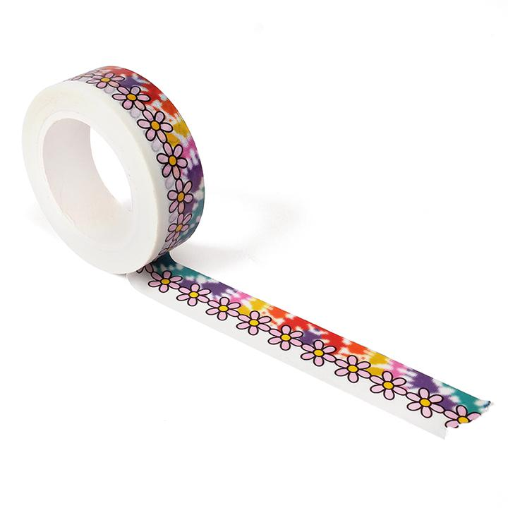 Tie Dye Daisy Washi Tape - Smarty Pants Paper Co.