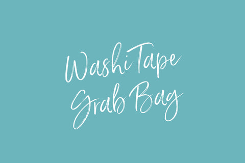 Washi Tape Grab Bags