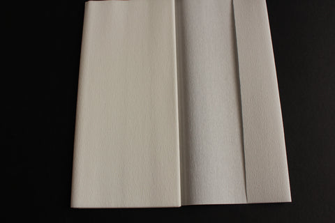 Gloria Doublette Crepe paper / Double sided crepe paper - White