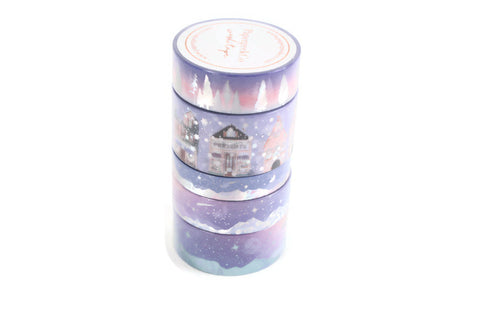 Winter Warmers Washi Tape - Violet