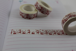 Reindeer Washi, Christmas washi tape