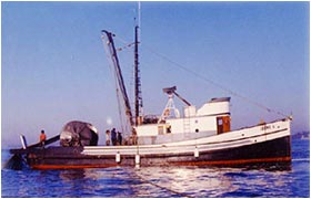 Salmon Fishing Vessel called The Irene