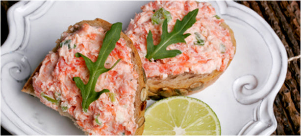 Cheesy Smoked Salmon and Dill Spread