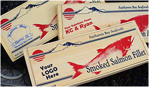 Smoke Salmon Corporate Gift