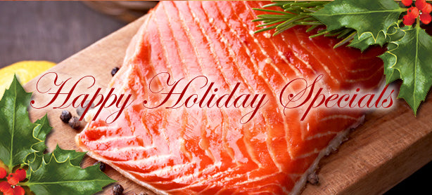 Smoke Salmon Fillet Holiday Specials