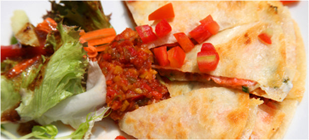 Wild Smoked Salmon Quesadillas