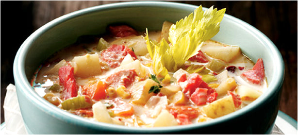 Smoked Salmon and Chipotle Chowder