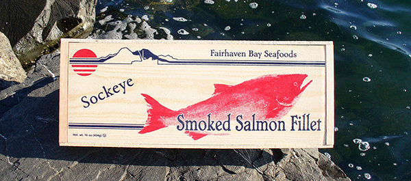 16 oz. Wild Smoked SOCKEYE Salmon Fillet - Legacy Box