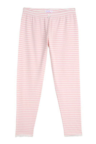 Girls Pink Sailor Stripe Pant PJ
