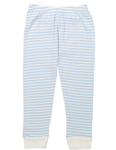 Boys Ocean Blue Sailor Stripe Pant PJ