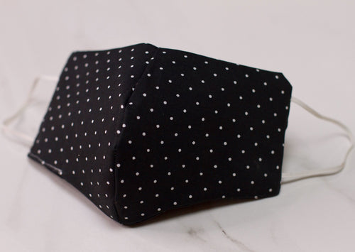 Female | Black and White Polka Dot