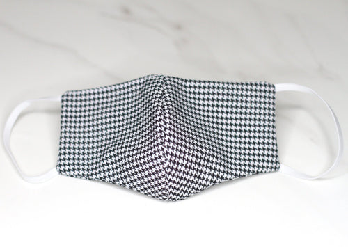 Male | Black and White Houndstooth Print