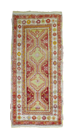 Heir Looms Vintage Turkish Rug No. R4589