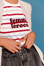 Load image into Gallery viewer, The Femme Feroce Perfect Stripe Tee