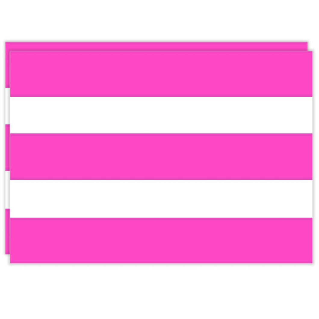Rectangle Dailies® | Pink Cabana Stripe (2-Pack) - TingeDaily