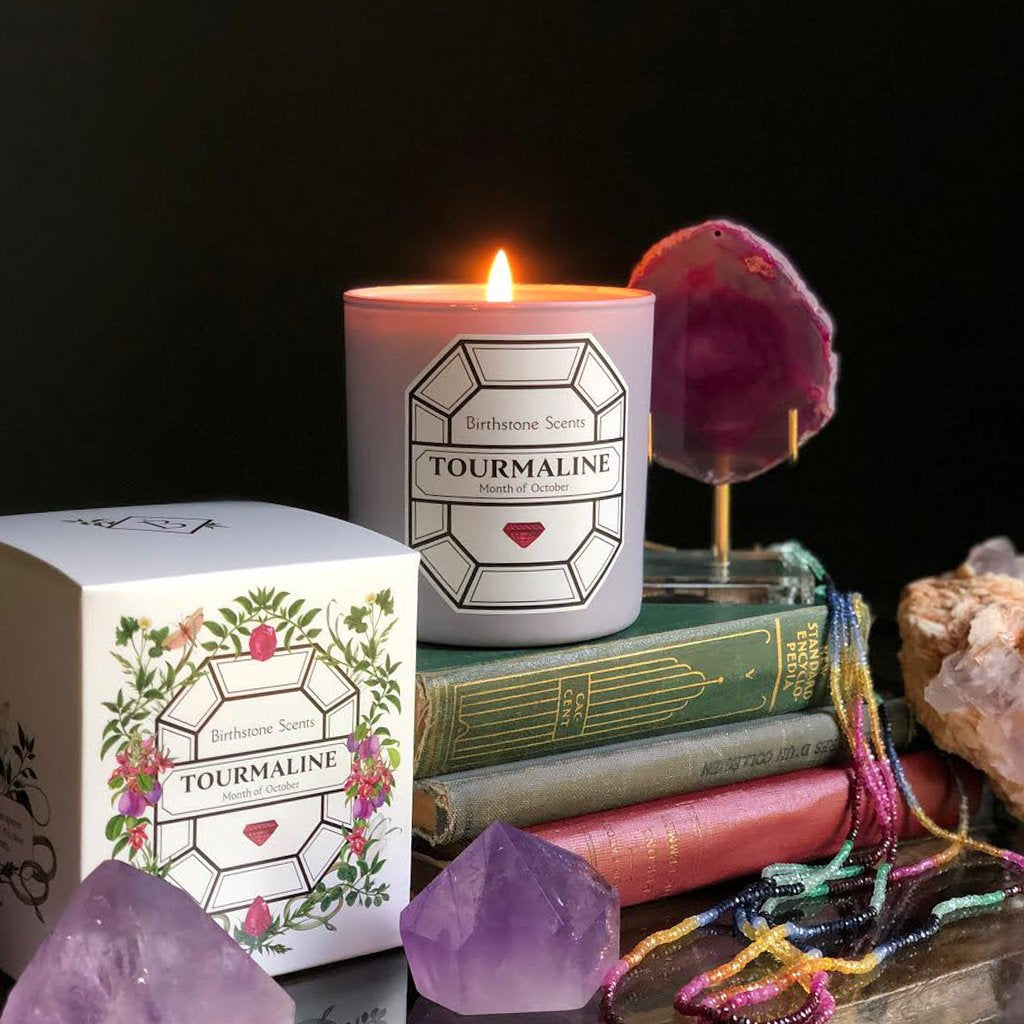 Tourmaline Candle | October