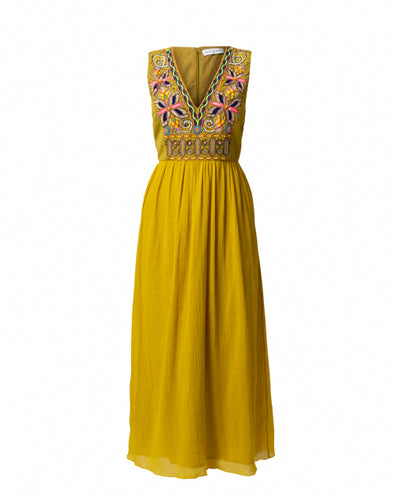 Rabari Dress Citrine