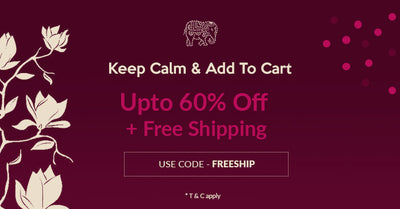 Keep Calm & Add to Cart : Upto 60% off + Free Shipping